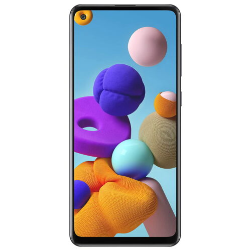 Shop for Refurbished Samsung Galaxy A21s at Lowest Price in India, Upto 60% Off! Best PriceWarranty: 6 monthsFREE Delivery 48MP (F2.0) quad rear camera +8MP (F2.2) ultra wide camera +2MP (F2.4) depth camera +2MP (F2.4) macro camera | 13MP (F2.0) front facing punch hole camera 16.40 centimeters (6.5-inch) TFT infinity-O display with capacitive touchscreen and HD+ resolution with 720 x 1600 pixels resolution Memory, Storage & SIM: 4GB RAM | 64GB internal memory expandable up to 512GB | Dual SIM dual-standby (4G+4G) Android v10 operating system with 2.0GHz Exynos 850 octa-core processor