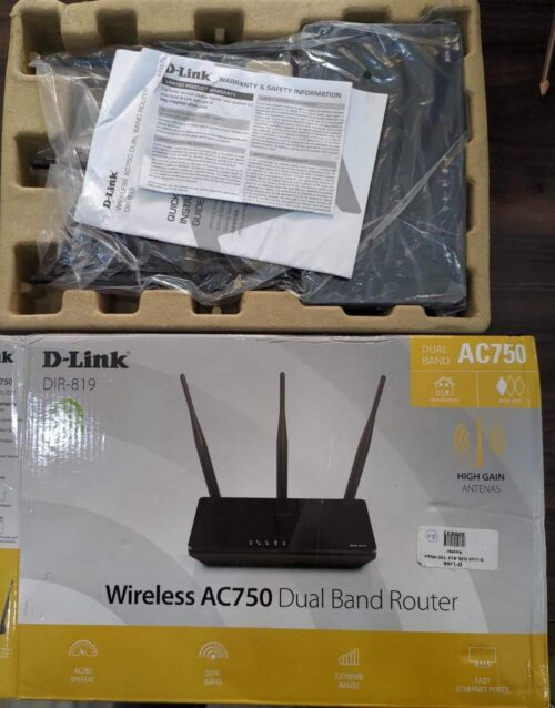 Refurbished DIR-819 Wireless AC750 Dual Band Router