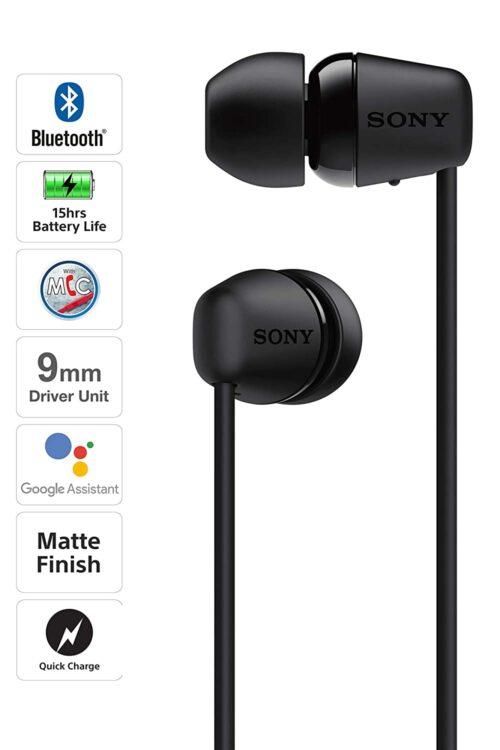 Sony WI-C200 Wireless Headphone (Refurbished)