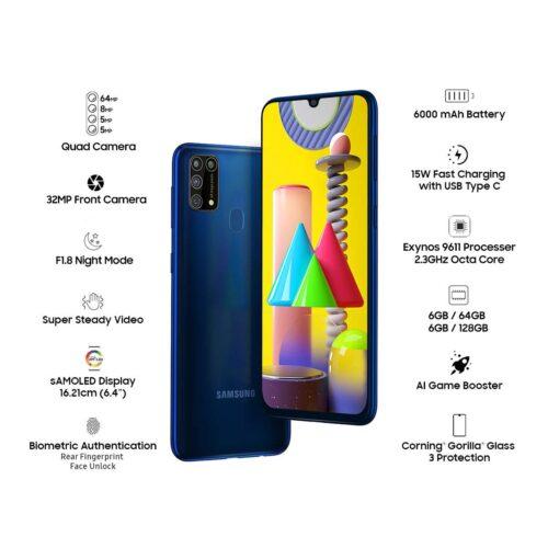 Refurbished Samsung Galaxy M31