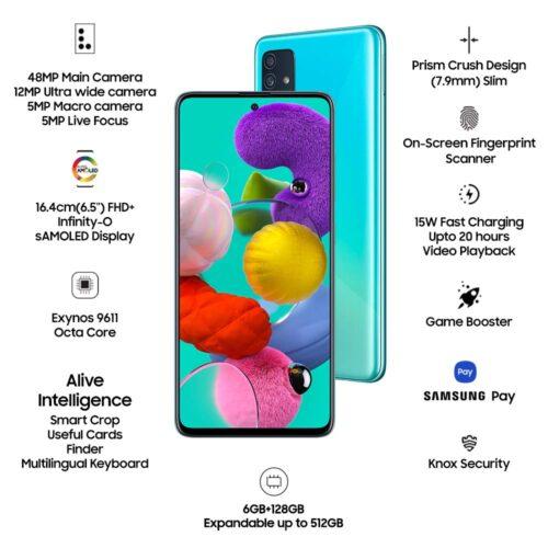 Refurbished Samsung Galaxy A51