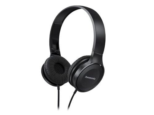 Refurbished Panasonic On Ear Stereo Headphones RP-HF100-K